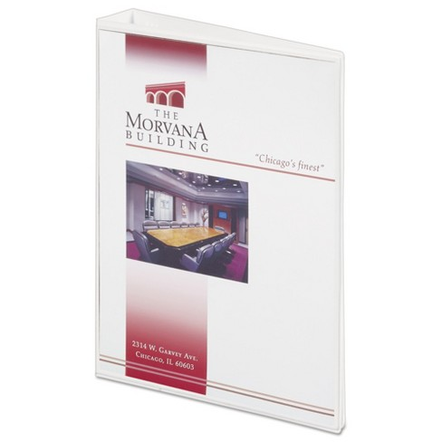 avery mini size durable view ring binder with round rings 8 1 2 x 5