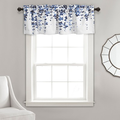 "18""x52"" Weeping Flower Valance - Lush Décor"