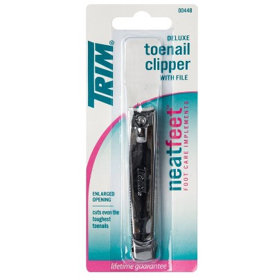 Trim Neat Feet Deluxe Toenail Clipper with File