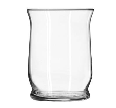 Glass Hurricane Vase Clear 6  - Libbey
