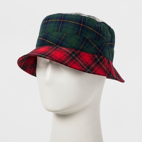 Men s Plaid Bucket Hat - Original Use™ L XL   Target d65cda4e334
