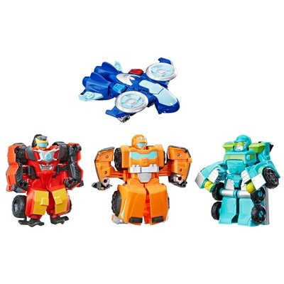 Transformers Rescue Bots Academy Rescue Team 4pk