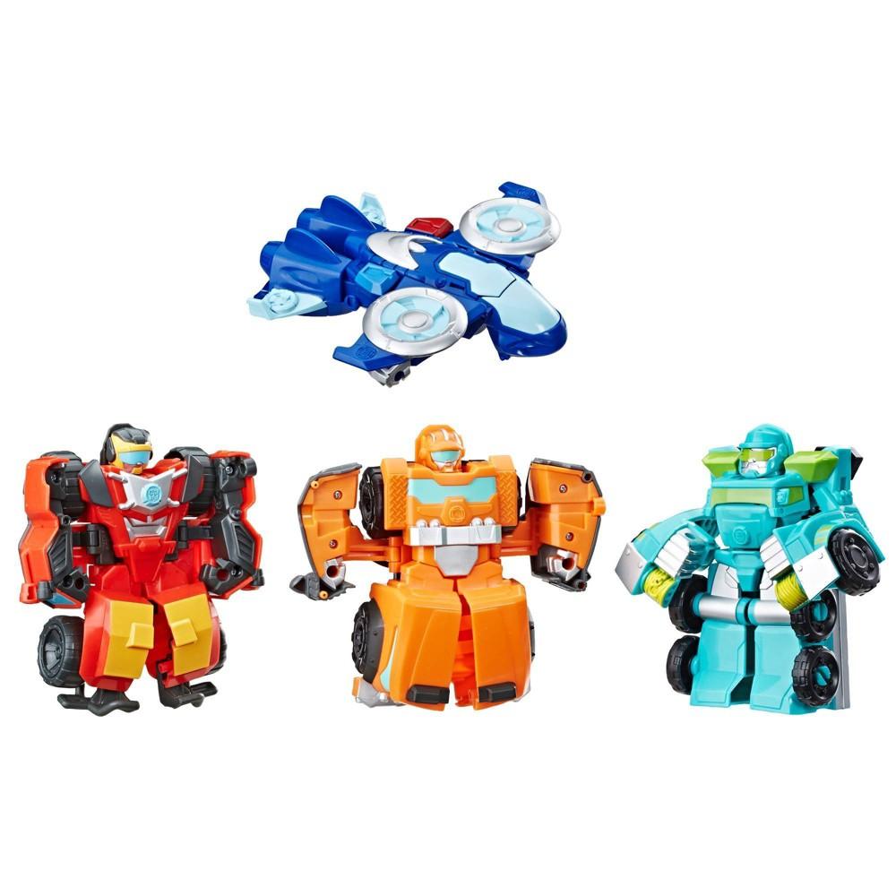 Transformers Rescue Bots Academy Rescue Team 4pk