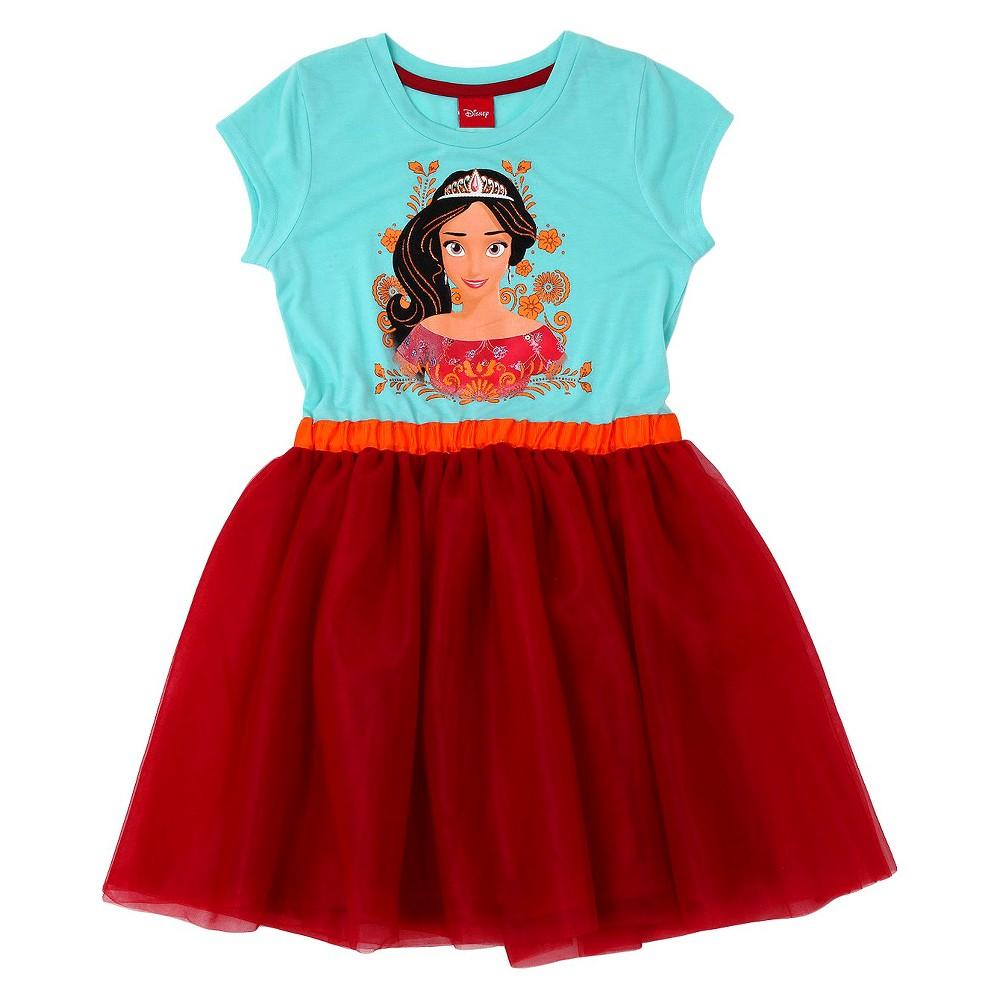 Girls' Elena of Avalor Dress - Blue M