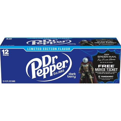 Dr Pepper Dark Berry - 12pk/12 fl oz Cans - image 1 of 3