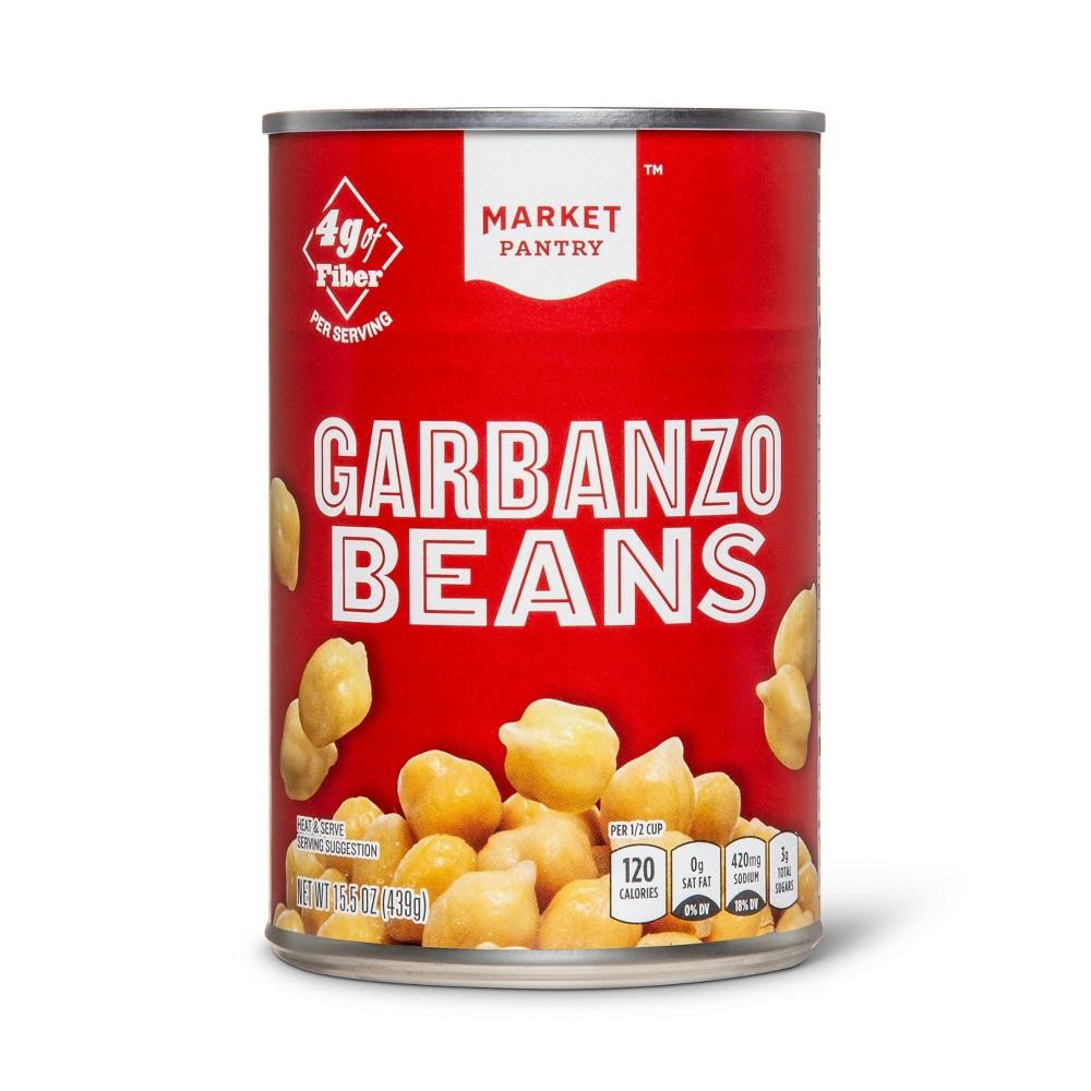 Garbanzo Beans 15.5 oz - Market Pantry