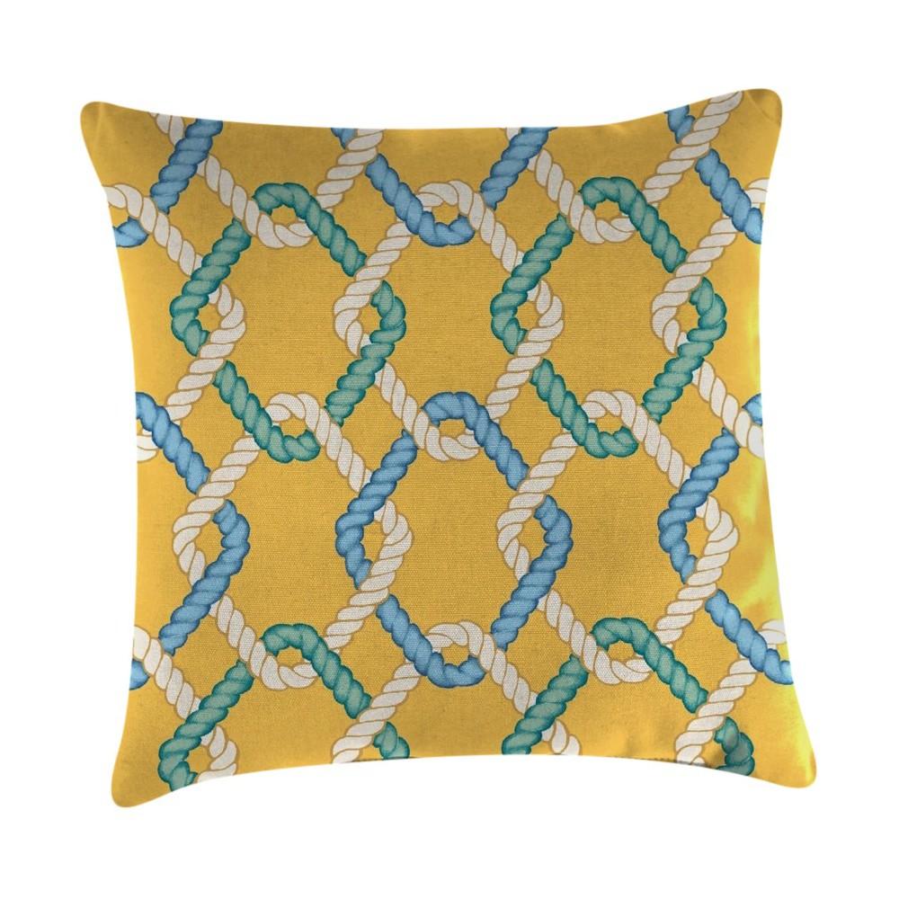 Jordan Set of Accessory Toss Pillows - Cape Cod Summer, Multi-Colored