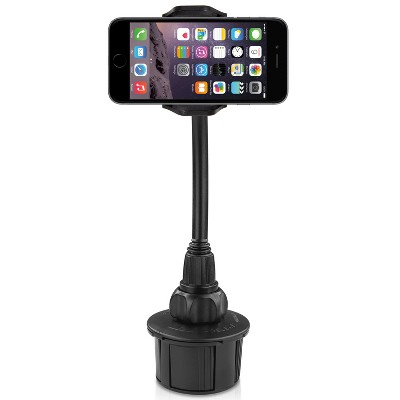 "Macally Phone Holder With 15"" Tall and Cupholder Mount"