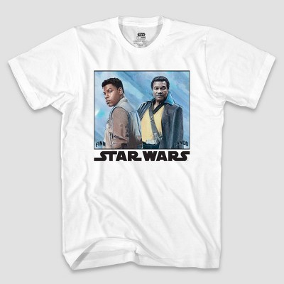 Boys' Star Wars Cool Duo Short Sleeve Graphic T-Shirt - White