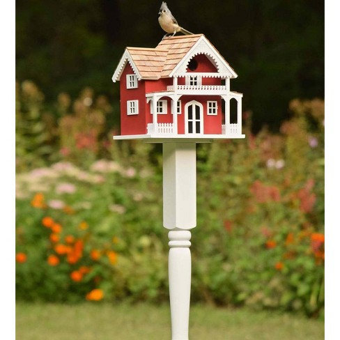 Shelter Island Victorian Birdhouse and Pole - Plow & Hearth - image 1 of 1