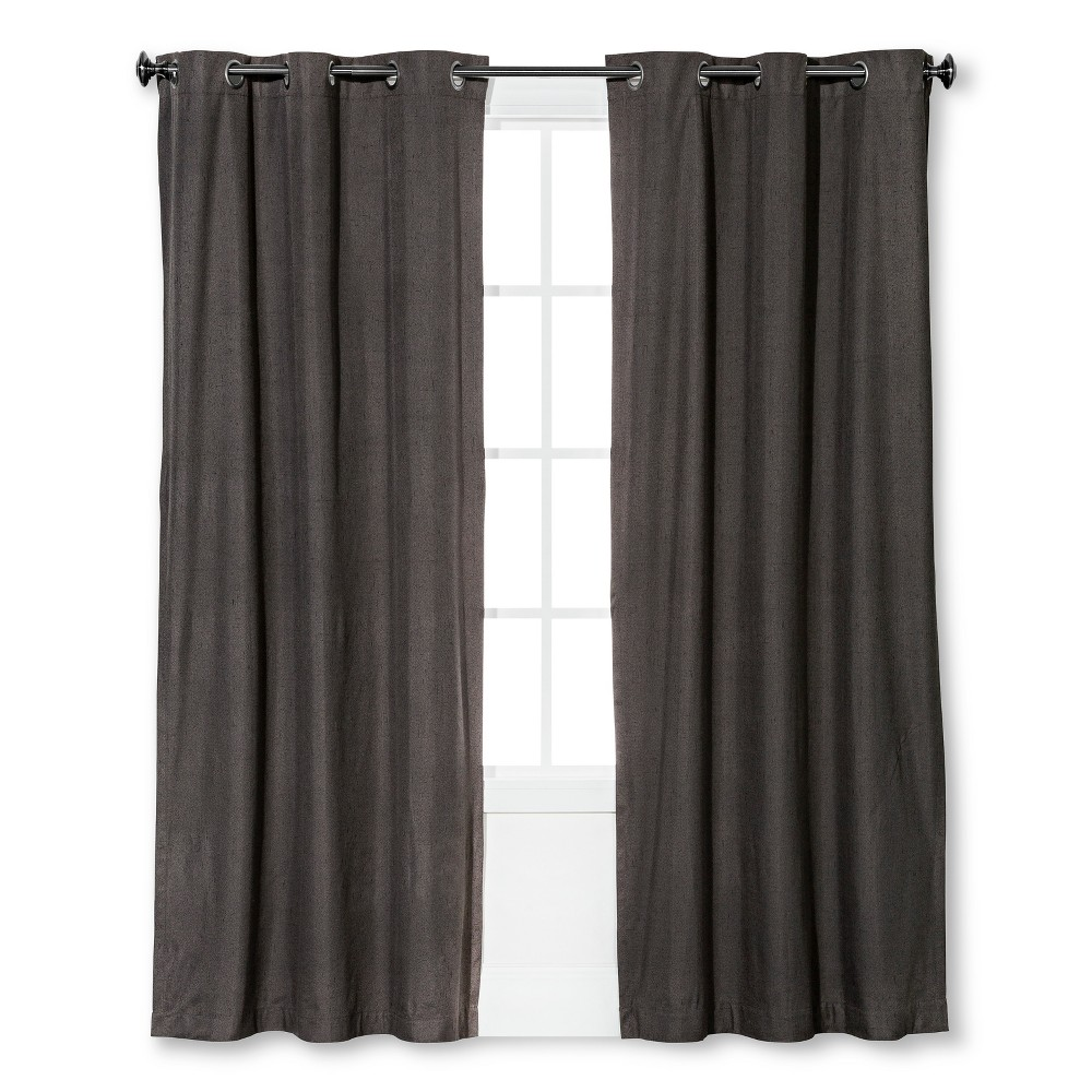 Windsor Light Blocking Curtain Panel Smoke (Grey) (42