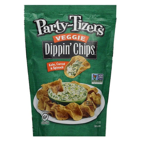 Dippin'Chips™ Kale-Carrot and Spinach Tortilla Chips (Pack of 12) - image 1 of 1