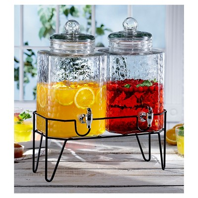 American Atelier Hamburg Beverage Dispenser with Tag Set of 2