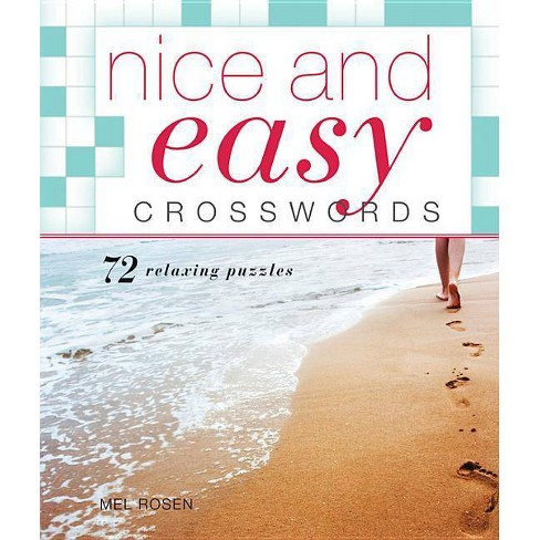 Nice and Easy Crosswords - by  Mel Rosen (Paperback) - image 1 of 1
