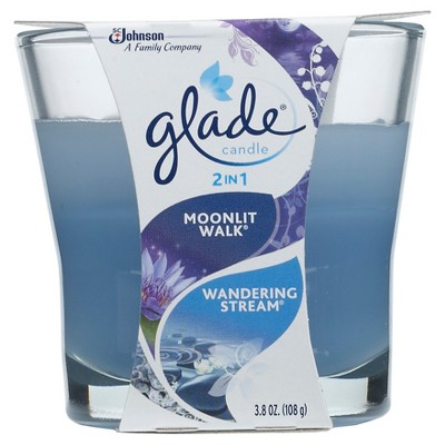 Glade Jar Candle Air Freshener, Blue Odyssey, 3.4oz