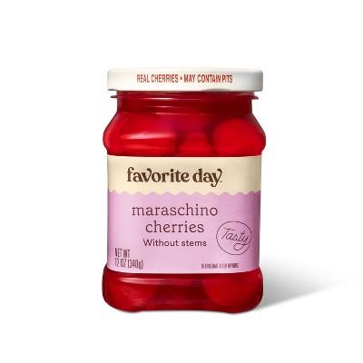 Maraschino Cherries without Stems - 12oz - Favorite Day™