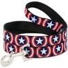 Captain America - Buckle-Down Dog Leash & Collar Set - L - image 3 of 4