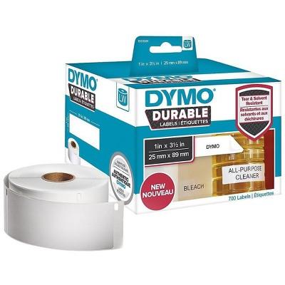 DYMO LW Durable 1933081 Printer Label, 1W, White