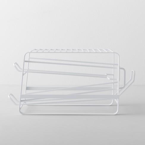 Kitchen Cabinet Can Organizer White