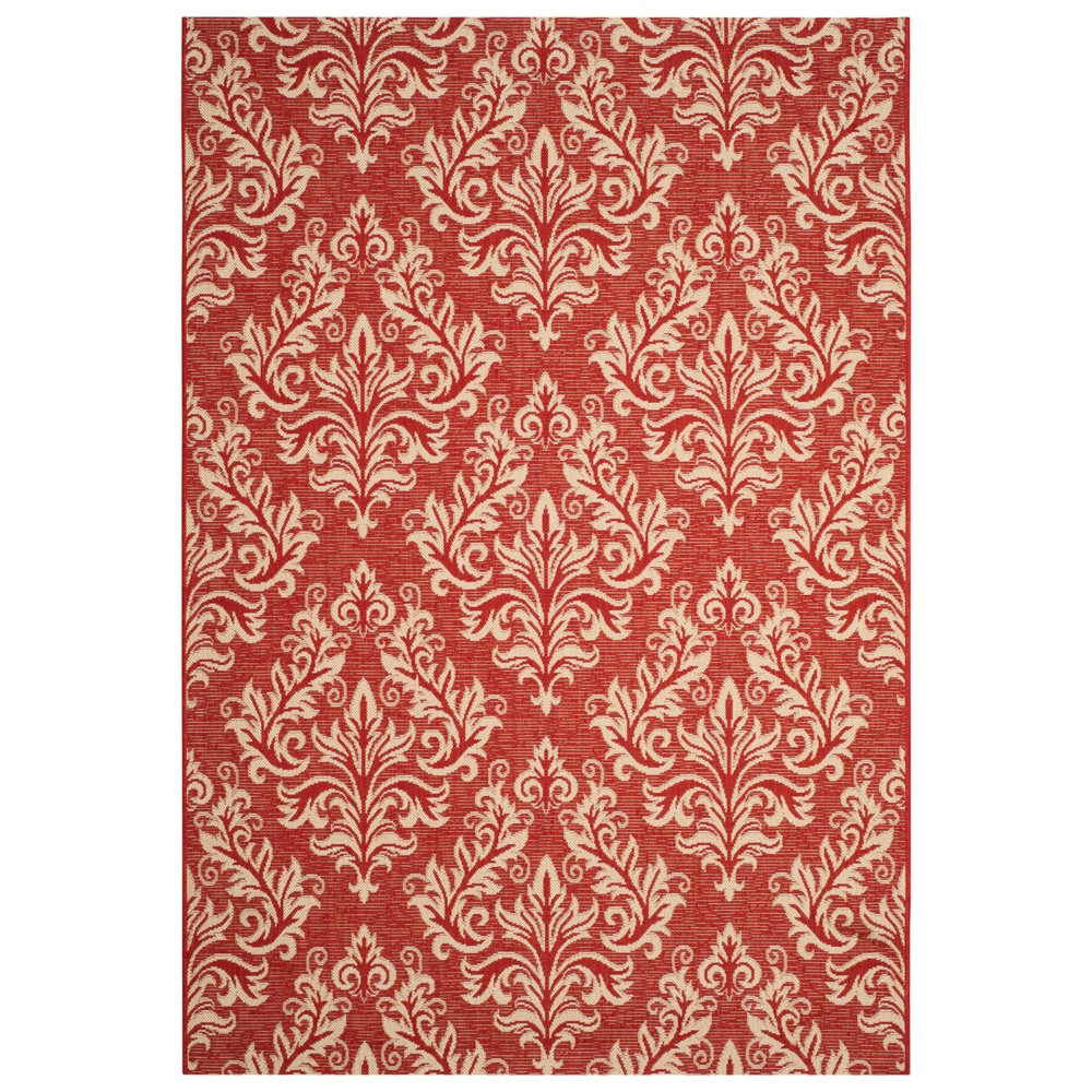 Eastleigh Rectangle 8' X 11' Outdoor Rug - Red / Creme - Safavieh, Red/Creme