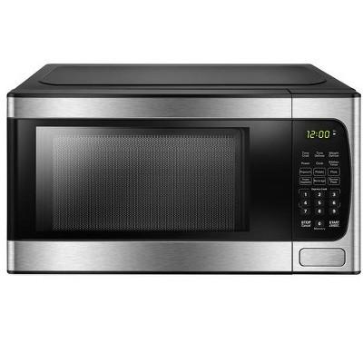 Danby .9 cu Ft. Countertop Microwave in Stainless Steel