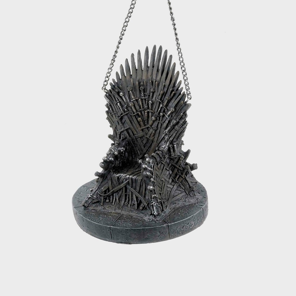 Image of Iron Throne Game of Thrones Christmas Tree Ornament, Brown
