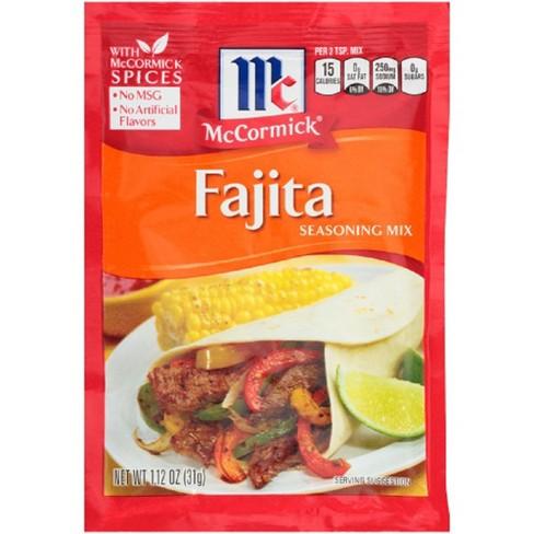McCormick Fajitas Seasoning Mix 1.12-oz. - image 1 of 4