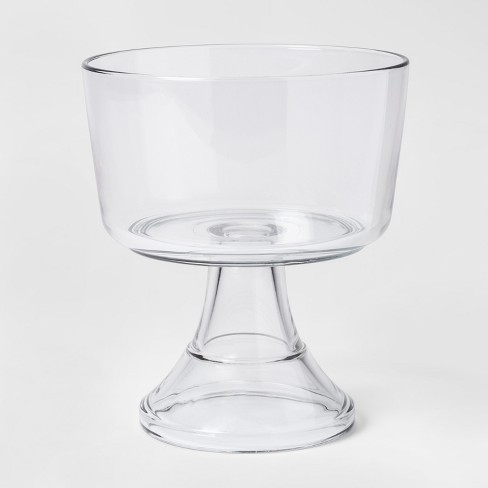 128oz Classic Glass Trifle Serving Bowl - Threshold™ - image 1 of 1