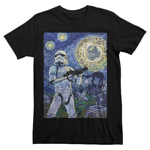 6930bd1c0 Men's Star Wars® Stormtrooper Painting T-Shirt - Charcoal M : Target