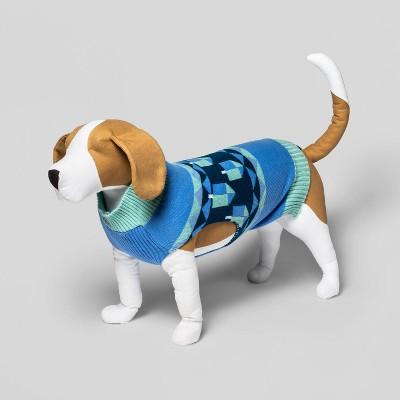 Hanukkah Dog Sweater - Blue - Wondershop™