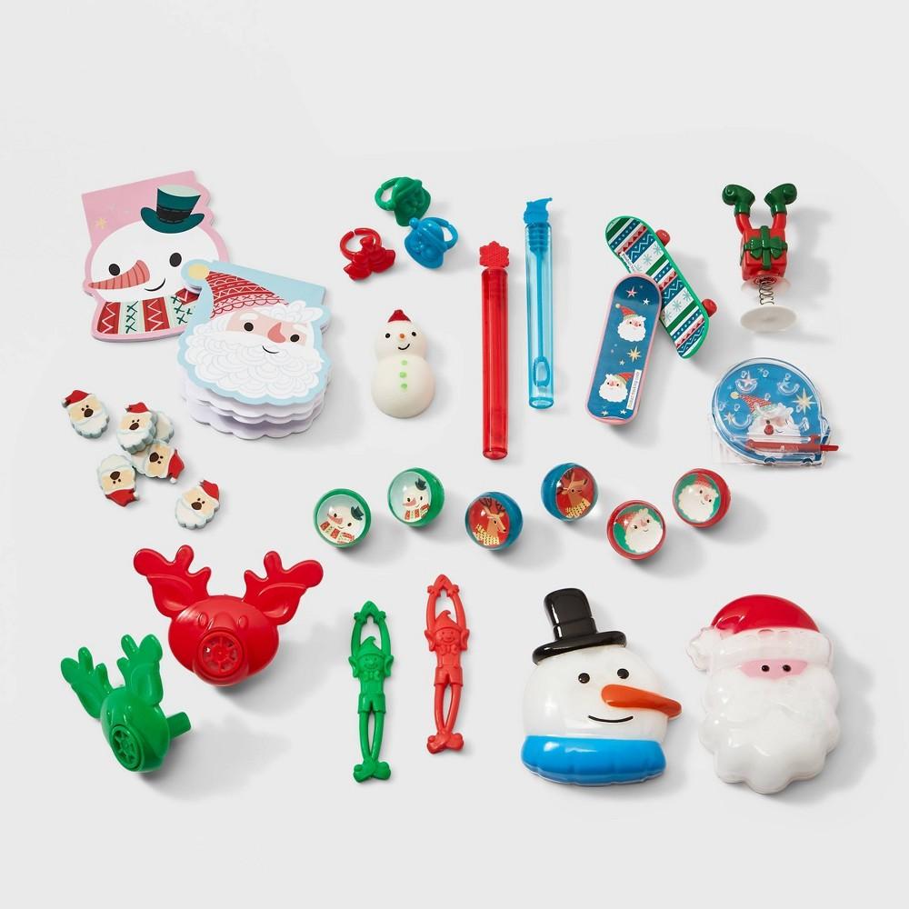 Image of 12 Days of Christmas Punch Box Advent Calendar Filler Kit - Wondershop