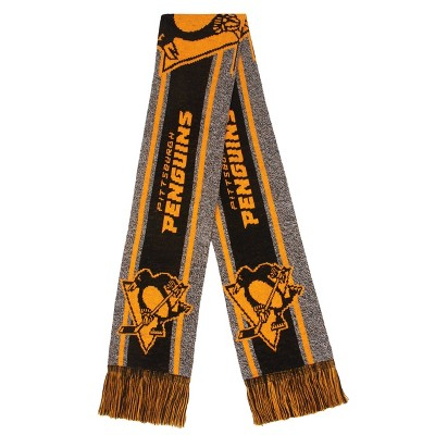 NHL Pittsburgh Penguins Gray Big Logo Scarf