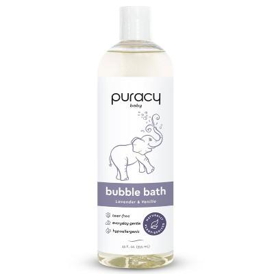 Puracy Natural Baby Bubble Bath Tear-free and Sulfate-free Lavender & Vanilla Fragrance - 12 fl oz