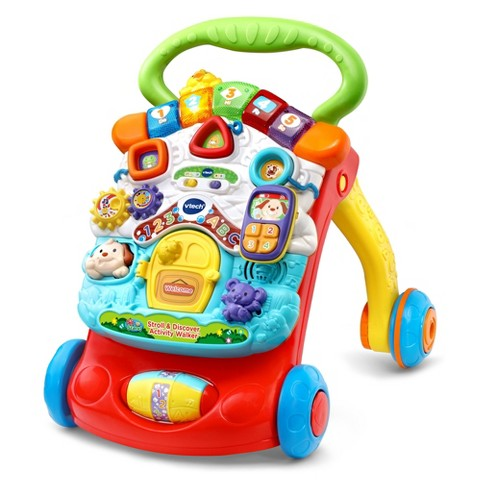 Vtech Stroll And Discover Activity Walker Target