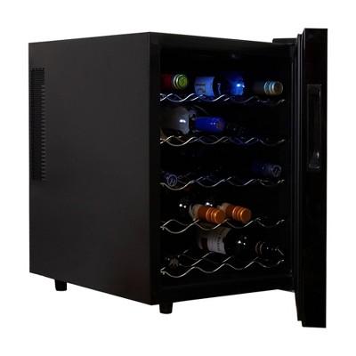 Koolatron 20-Bottle Wine Cooler - Jet Black