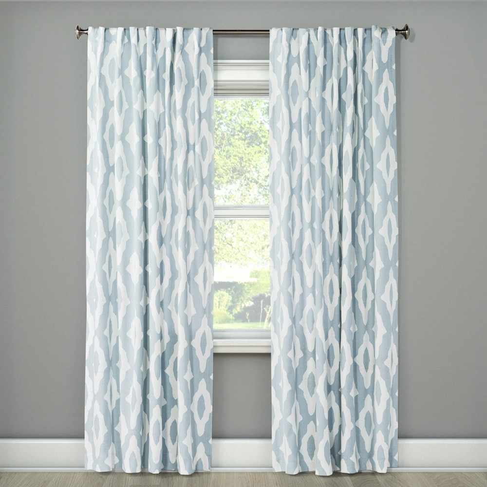 Light Filtering Curtain Panel Summer Blue 63 - Project 62, Peace Blue