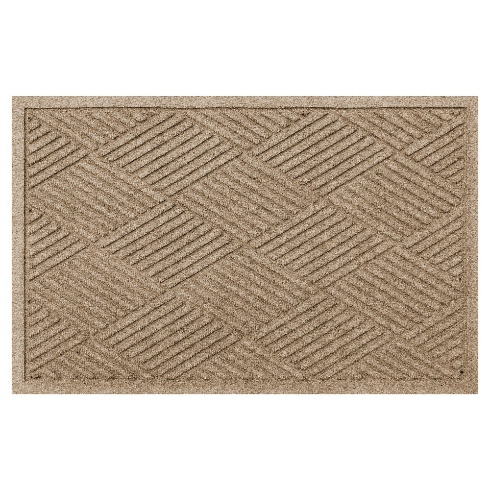 Image of Camel Solid Doormat - (2'X3') - Bungalow Flooring
