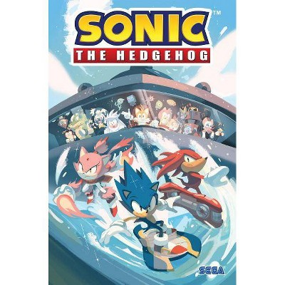 Sonic the Hedgehog, Vol. 3: Battle for Angel Island - by  Ian Flynn (Paperback)