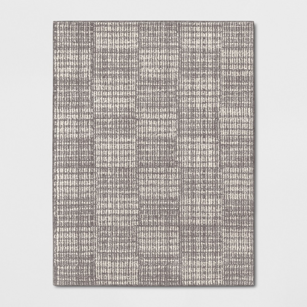 9'X12' Geometric Woven Area Rugs Gray - Project 62