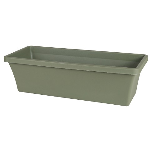 Rectangular Terra Window Box Planter - Bloem® - image 1 of 5
