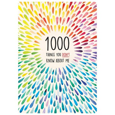 1000 Things You Don't Know About Me Activity Journal - Piccadilly