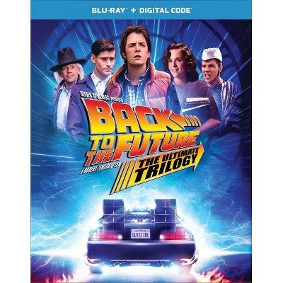 Back to the Future Trilogy 35th Anniversary Edition (Blu-ray + Digital)