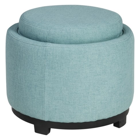 Menga Ottoman with Storage Mist - Signature Design by Ashley - image 1 of 3