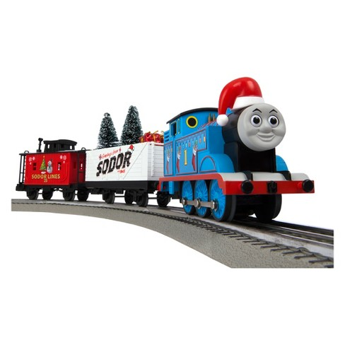 Christmas Train.Lionel Thomas Friends Christmas Freight Lionchief Train Set With Bluetooth