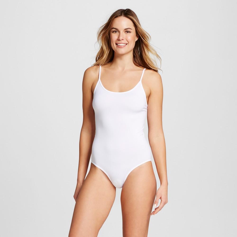 Women's Seamless Bodysuit - White L