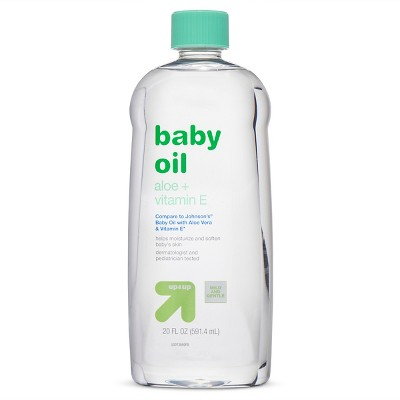Baby Oil - Aloe Vitamin E - 20oz - Up&Up™