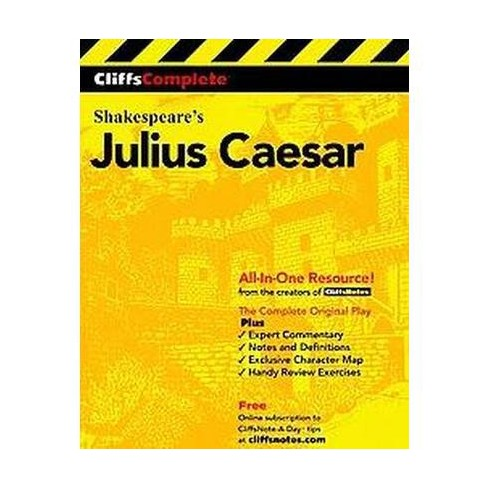 Cliffscomplete Julius Caesar - (Cliffs Complete) by  William Shakespeare (Paperback) - image 1 of 1