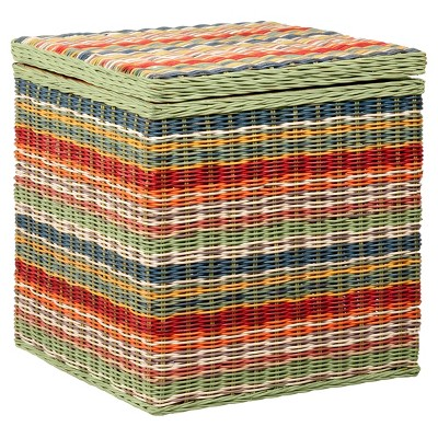 Merveilleux Hawthorne Storage Cubes   Set Of 2   Multi Colored   East At Main : Target