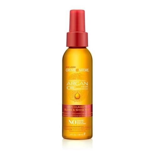Creme of Nature Argan Oil Anti-Humidity Gloss & Shine Mist Hair Glosses - 4oz - image 1 of 4