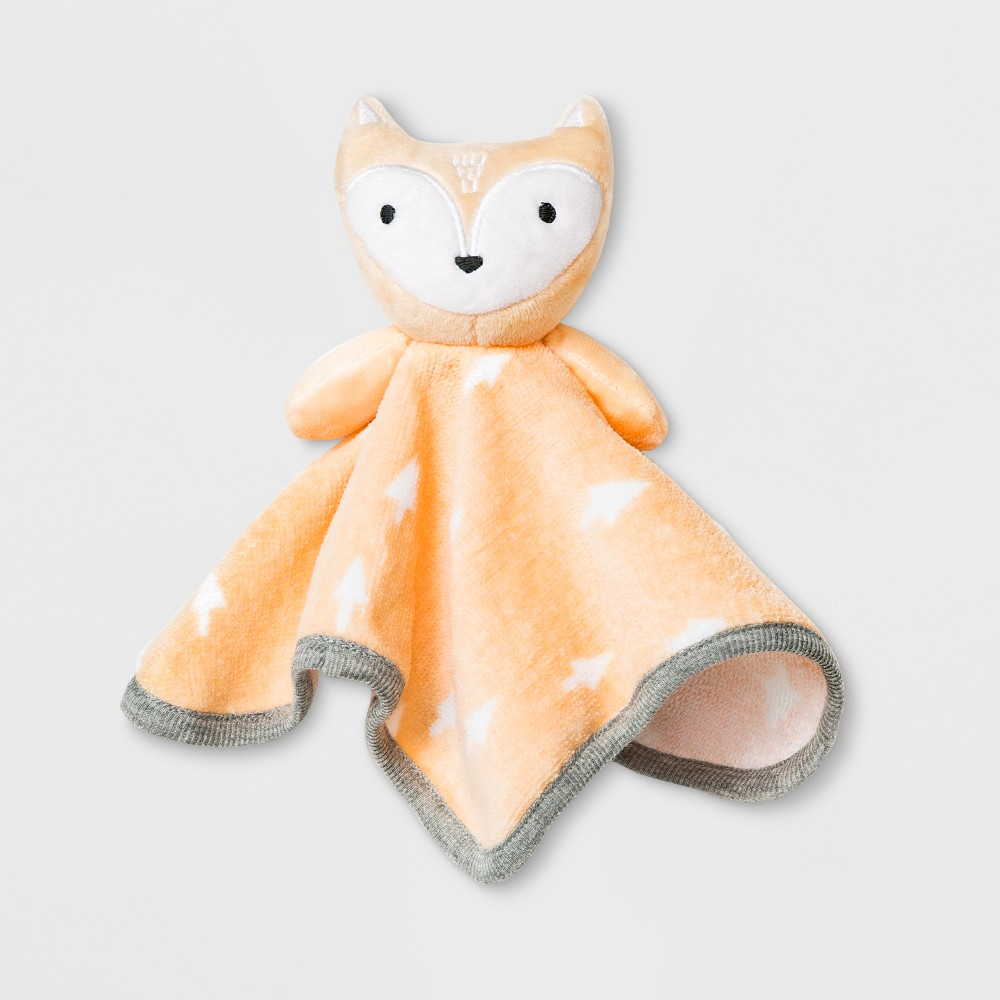 Image of Baby Fox Washcloth - Cloud Island Orange, Mellow Orange